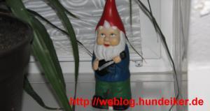 Karl-Heinz, unser Gartenzwerg