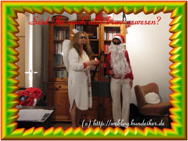 Weihnachtsgrußkarte von Kirsten und Ulf