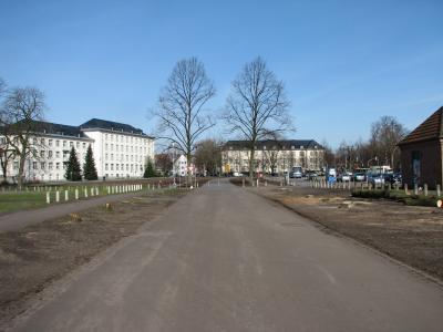 Hindenburgplatz, kahl