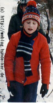 Ulf, ganz jung, im Winter