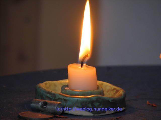 Kerze für muede aus depri.ch