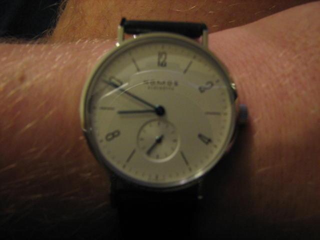 Ulfs neue Uhr: Nomos Tangente