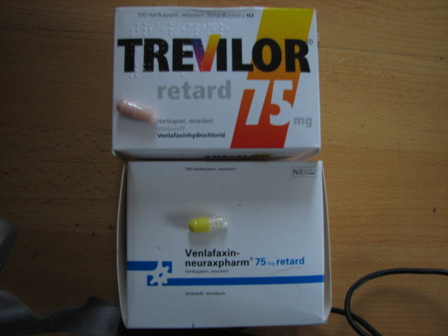 Trevilor vs. Venlafaxin