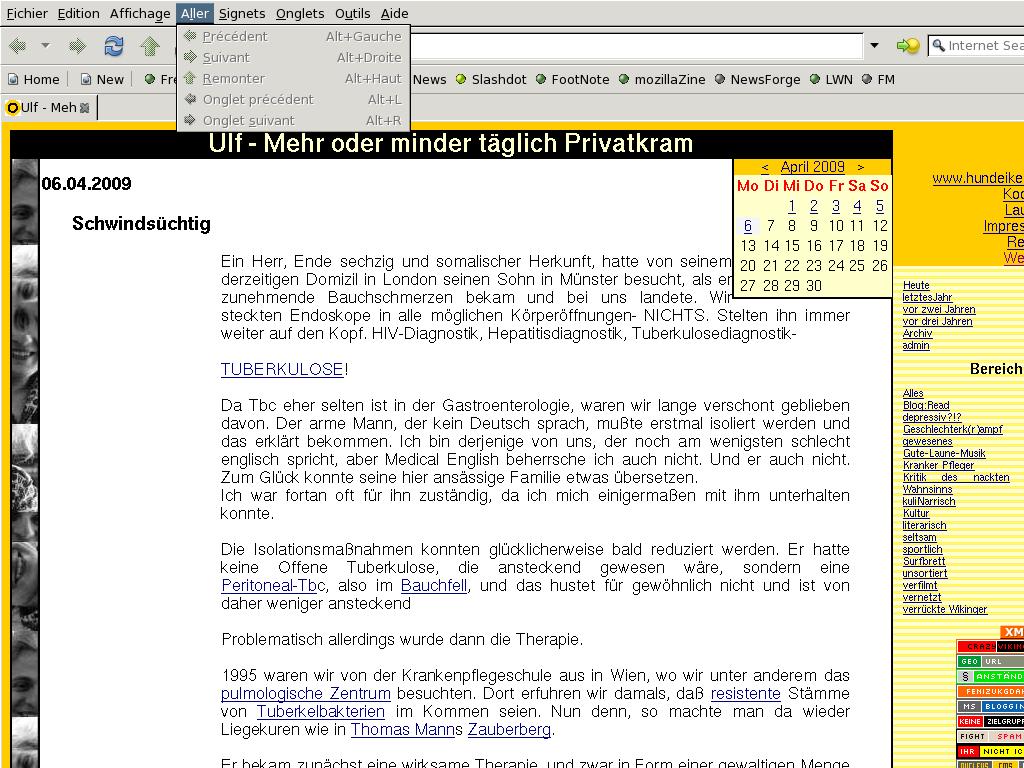 Browsertest: Kazihakase unter BSD