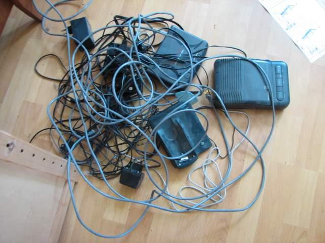 Alter Telekommunikationsschrott