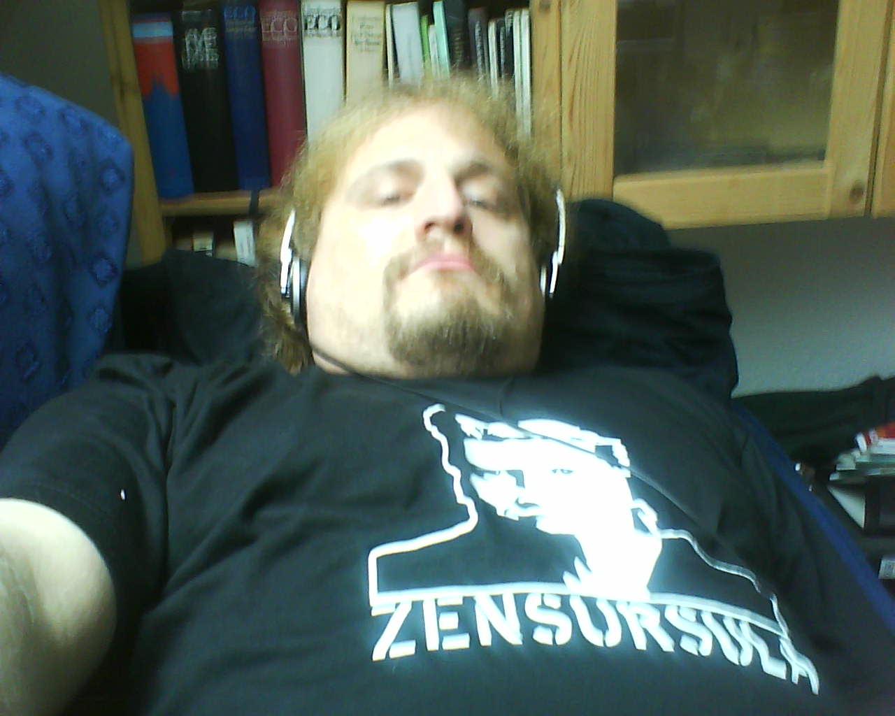 Ulf mit Zensursula-T-Shirt