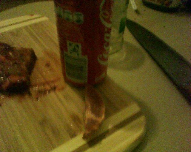Fleisch und Cola