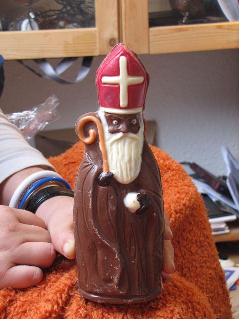 Bischof von Myra (etwas verfrüht) in Gänze