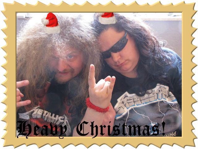 Weihnachtskarte von Krokofantilein und Ulf