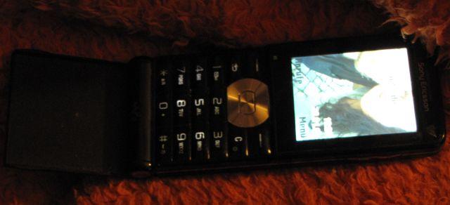 Mein Mobiltelephon.