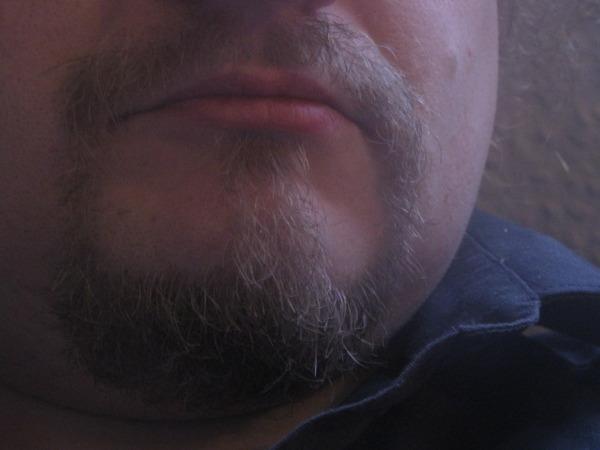 Frisch rasiert.