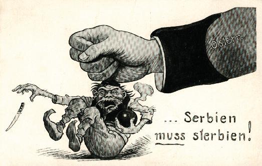 Serbien muß sterbien?