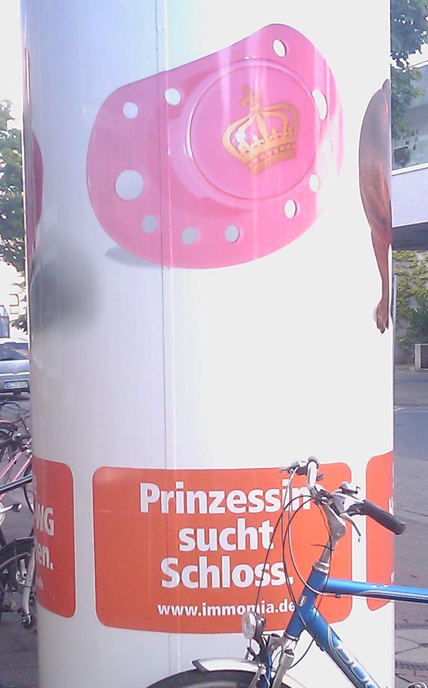 Bild: Schloß=Schnuller