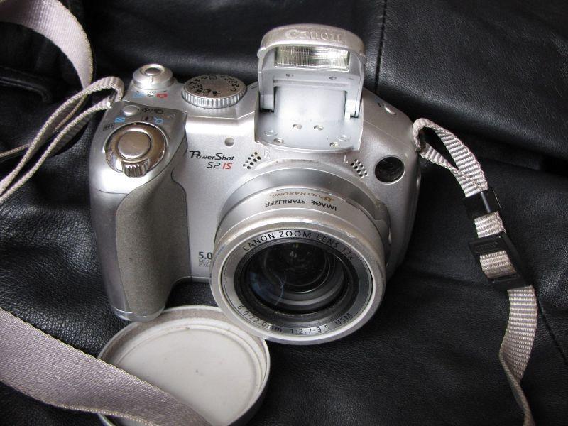 Ulfs alte Digitalkamera.