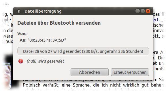 28 von 27 Dateien werden übertragen.