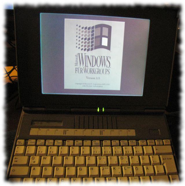 Ulfs uralter, erster Computer.