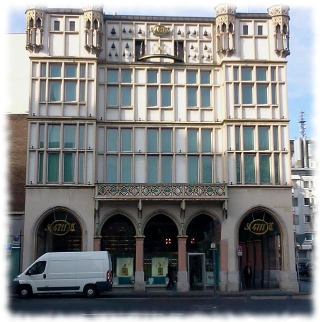 Haus 4711 in der Glockengasse zu Köln.