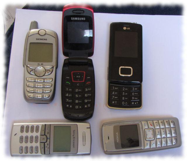 Ilonas gesammelte Telephone.