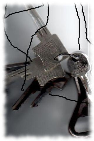 Die Dienstschlüssel.