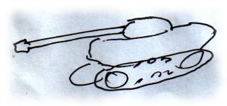 Skizze Panzer.