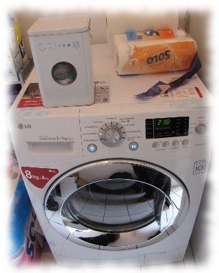 Unser neuer Waschtrockner.