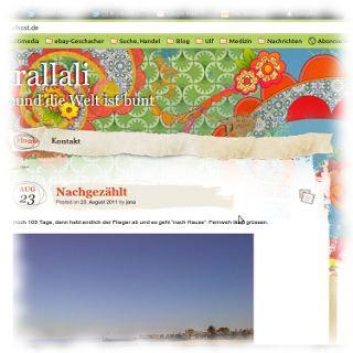 Screenshot von Janas Trallali.