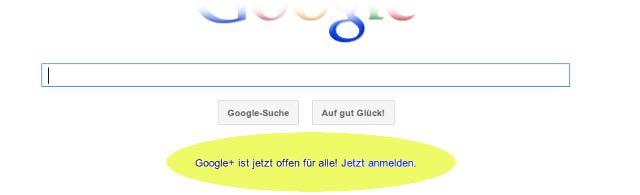 Google Plus behauptet, für alle offen zu sein.