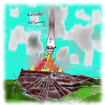 Gleiches Recht f�r alle: Fr�her brannten die Ketzer. Heute sollten...