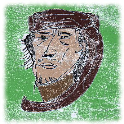 Muammar al-Gaddafi.