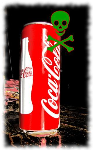 Symbolbild: Cola ist gefährlich!