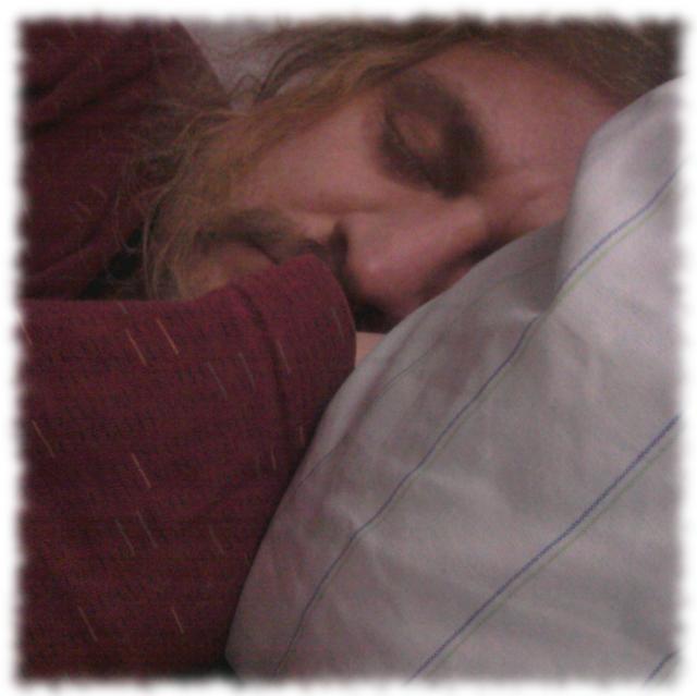 Ulf schlafend.