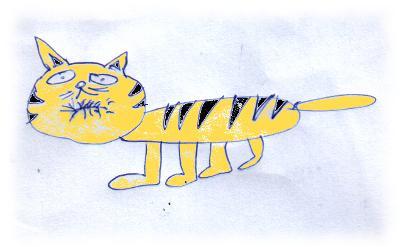 Zahnloser Tiger, von Leid und Ulf gezeichnet.