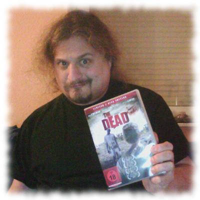 Ulf mit der DVD-Hülle.