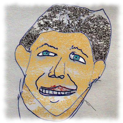 Mißlungene Karikatur des Herrn Heveling.