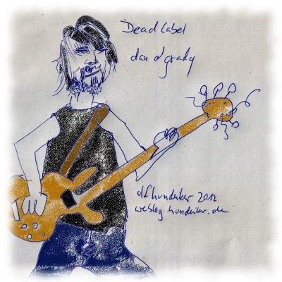Dan OGrady, Bassist und S�nger von Dead Label