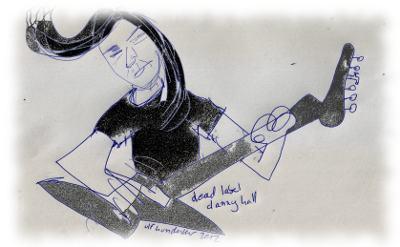 Danny Hall, Gitarre bei Dead Label