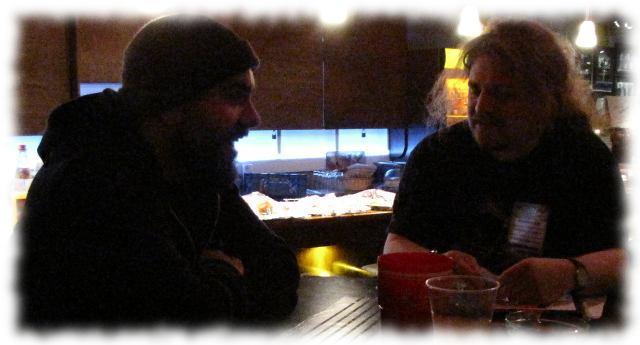 Ich und Josh von Silverstein.