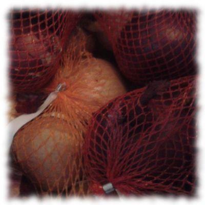 Viele Zwiebeln. ZU viele.