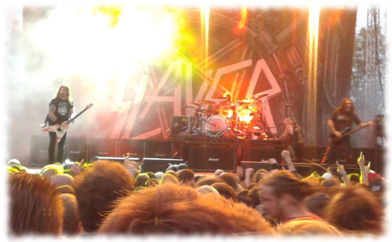 Slayer live in Münster