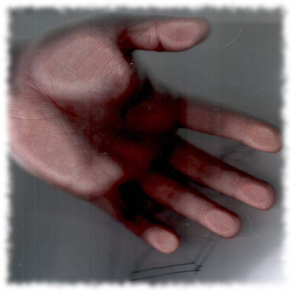 Meine Hand.