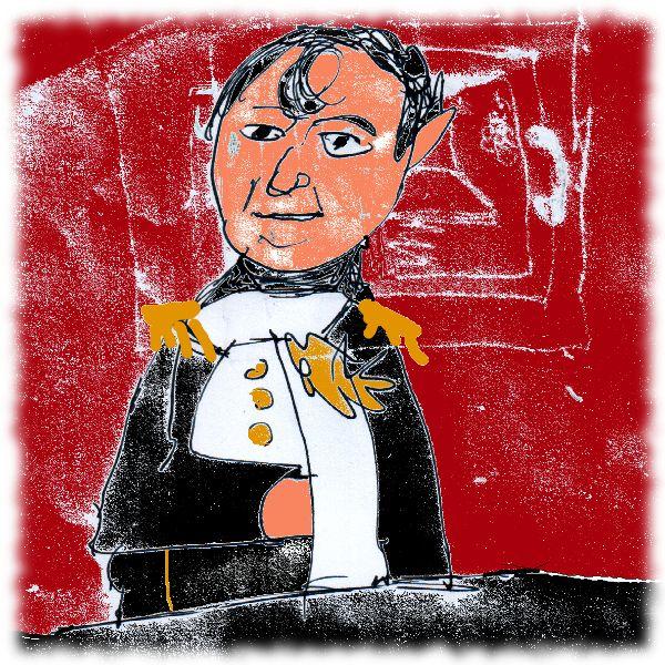 Napoleon, von mir gezeichnet.