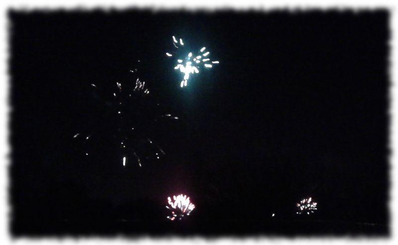 Feuerwerk über Gievenbeck.