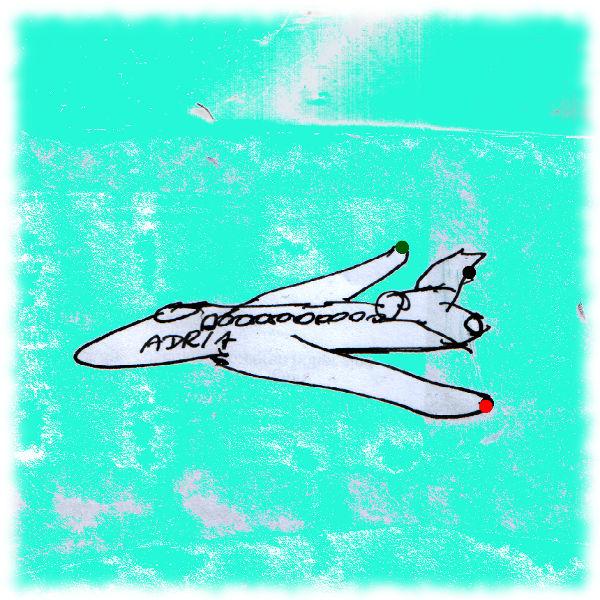 Flugzeug (Zeichnung).