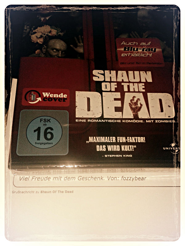 DVD Shaun of the Dead.