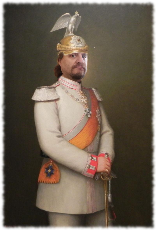 Ulf als Kaiser Wilhelm II.