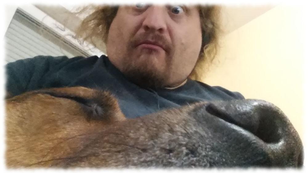 Ulf mit Bruno.