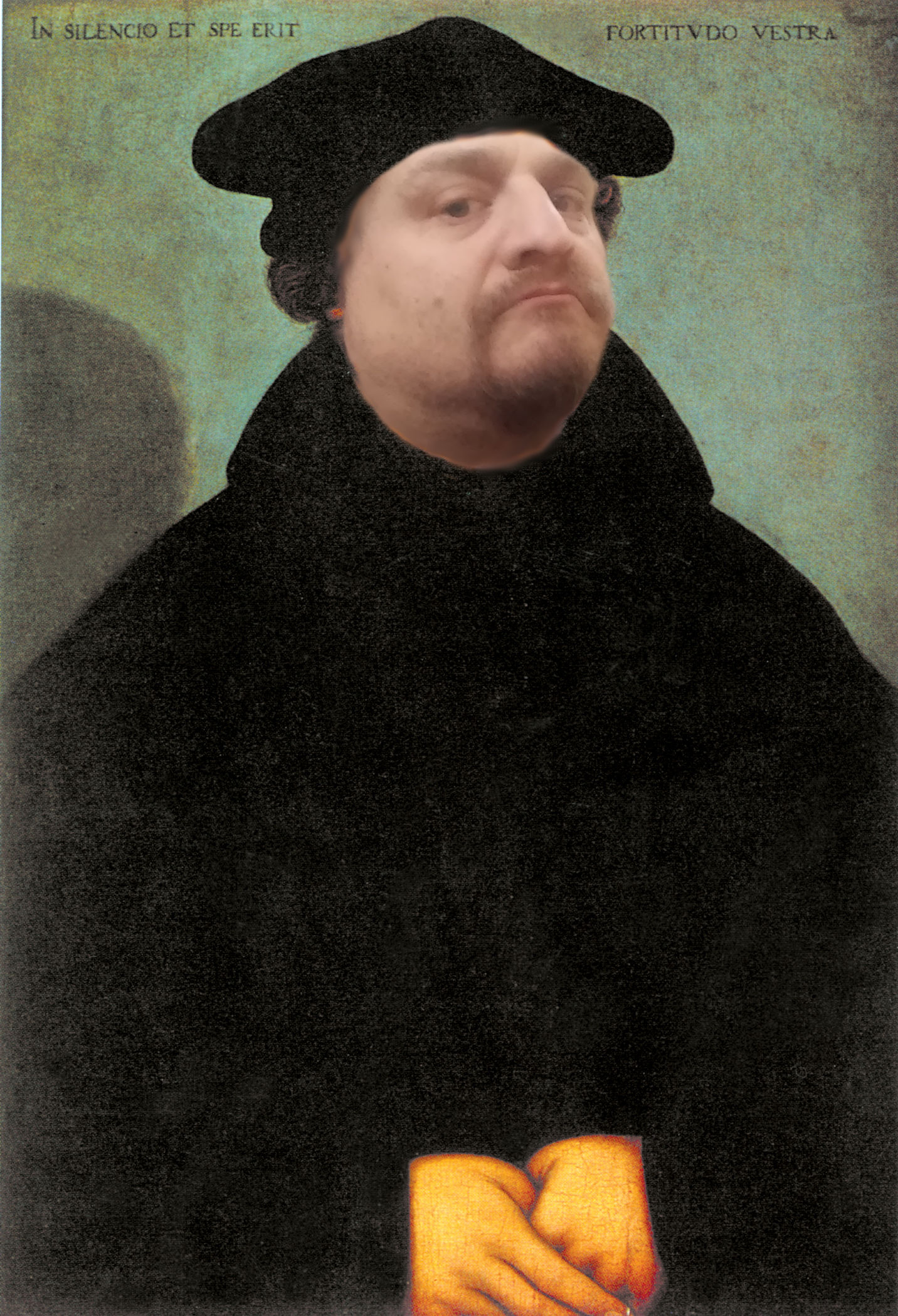 Ulf als Martin Luther.