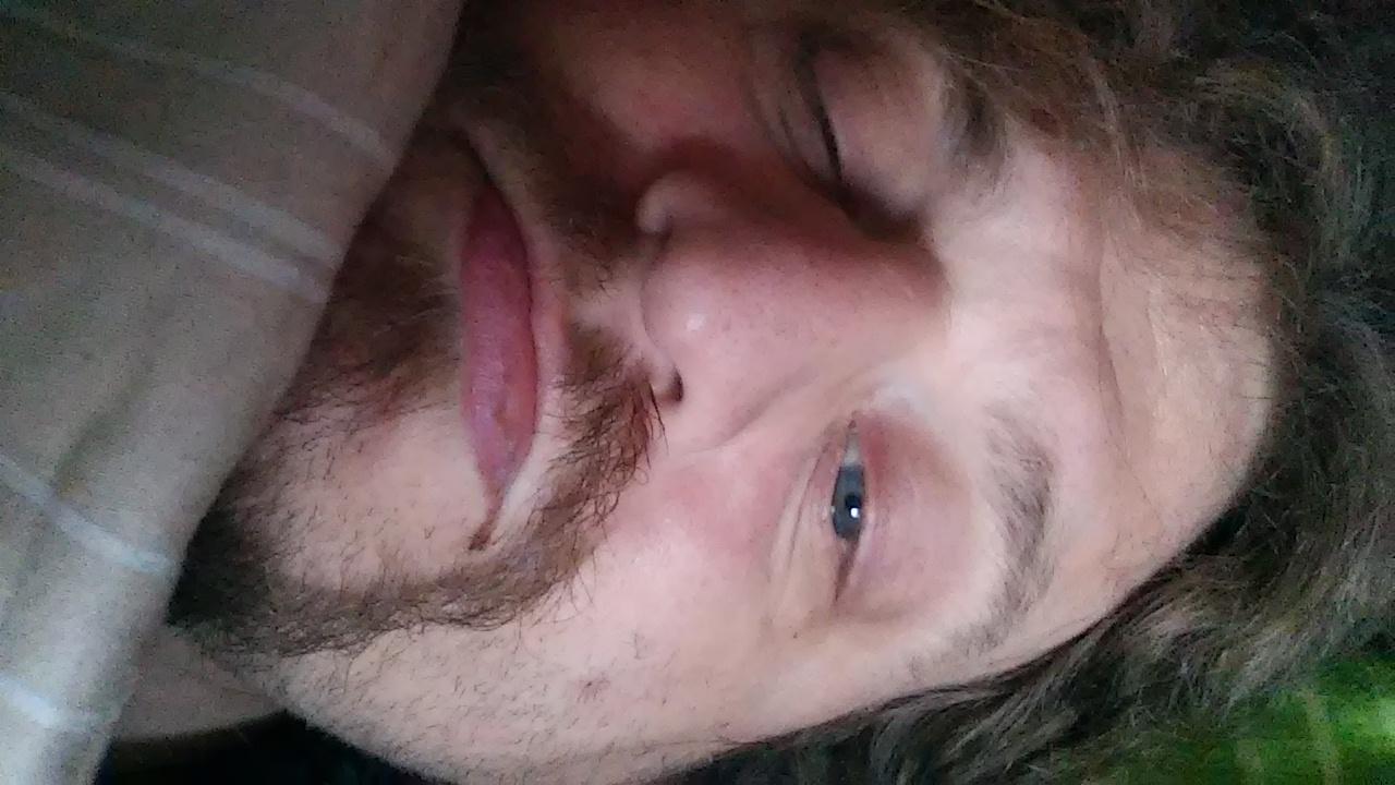 Noch sehr verschlafen.
