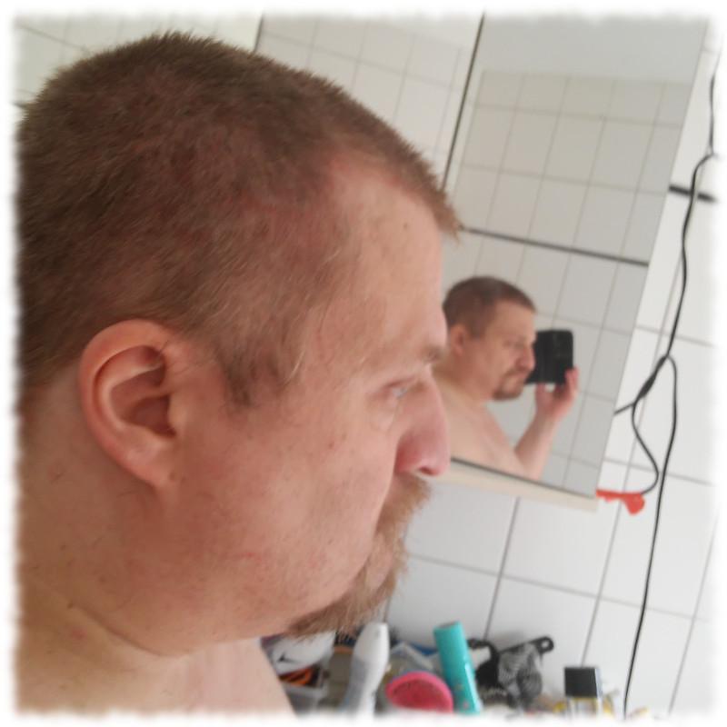 Ulf mit abgeschnittenen Haaren