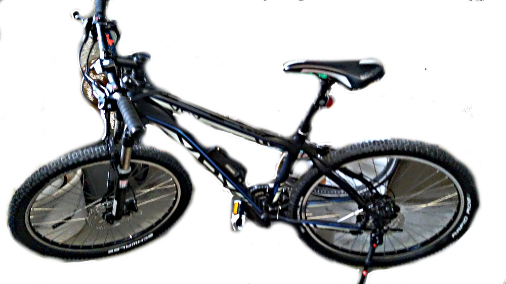Mein neues Mountainbike.